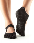 ToeSox Full Toe Bellarina in Black