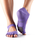 Dance ToeSox Without Toe Plie Light Purple