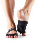 Dance ToeSox Without Toe Releve Black
