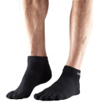 ToeSox Lightweight Ankle in Black
