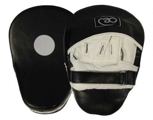 Leather Pro Curved Hook & Jab Pads