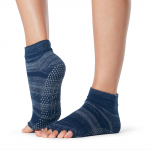 ToeSox Half Toe Ankle Grip Socks in Nebula