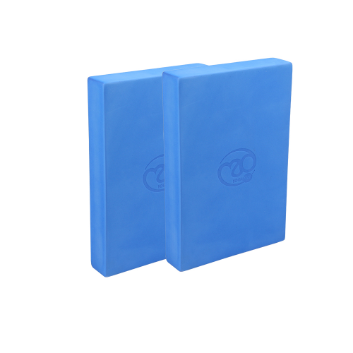 Full EVA Yoga blocks - Pair Blue