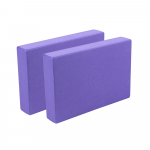 Full EVA Yoga blocks - Pair Purple