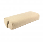 Rectangular Jute Buckwheat Yoga Bolster