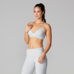 Tavi Noir Studio Bra in Light Grey