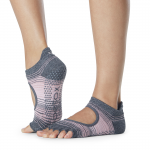 ToeSox Half Toe Bellarina Grip Socks in Echo