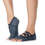 ToeSox Half Toe Elle Grip Socks in Diverge