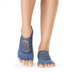 ToeSox Half Toe Luna Grip Socks in Crescent