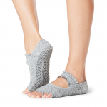 ToeSox Half Toe Mia Grip Socks in Misty