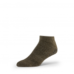 Base 33 Low Rise Grip Socks in Olive