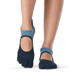 ToeSox Full Toe Bellarina Grip Socks in Celcius