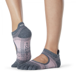 ToeSox Full Toe Bellarina Grip Socks in Echo