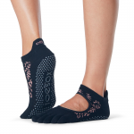 ToeSox Full Toe Bellarina Grip Socks in Foliage