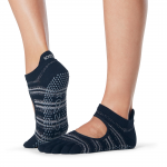 ToeSox Full Toe Bellarina Grip Socks in Solstice
