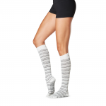 ToeSox Full Toe Knee High Grip Socks in Celestial