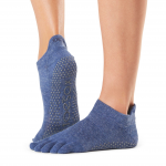 ToeSox Full Toe Low Rise in Navy