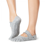 ToeSox Full Toe Mia Grip Socks in Misty