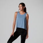 Tavi Noir High Low Tank Top in Slate