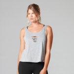 Tavi Noir Laser Cut Tank Top in Heather