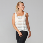 Tavi Noir Scoop Neck Tank Top in Salt Stripe