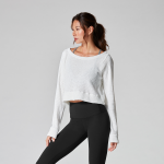 Tavi Noir Warm Up Sweater in Cloud
