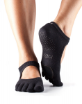Dance ToeSox With Toe Plie Black