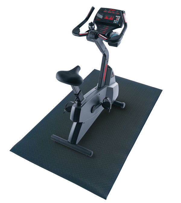 Fitness-Mad Exercise Machine Mat 6mm X 100 X 250cm