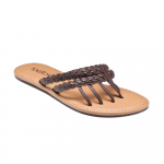 Mazzy Ladies Sandal in Brown