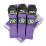 Box of 12 Purple Yoga Belts