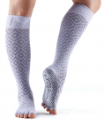 ToeSox Half Toe Knee High in Diamond Lotus