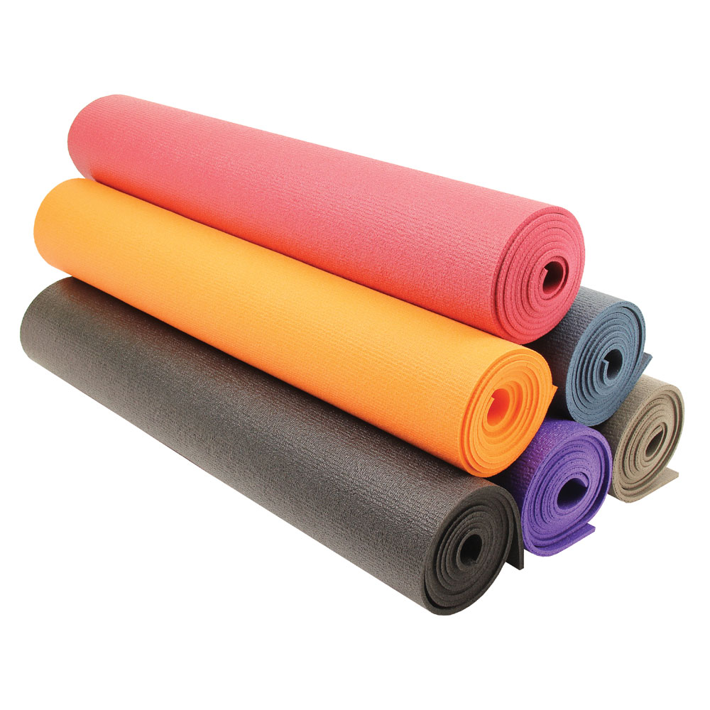 Red Yoga-Mad Warrior II Mat 4 mm-Fitness Training Gym