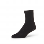 Base 33 Crew Grip Socks in Black