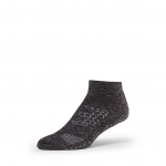Base 33 Low Rise Grip Socks in Charcoal