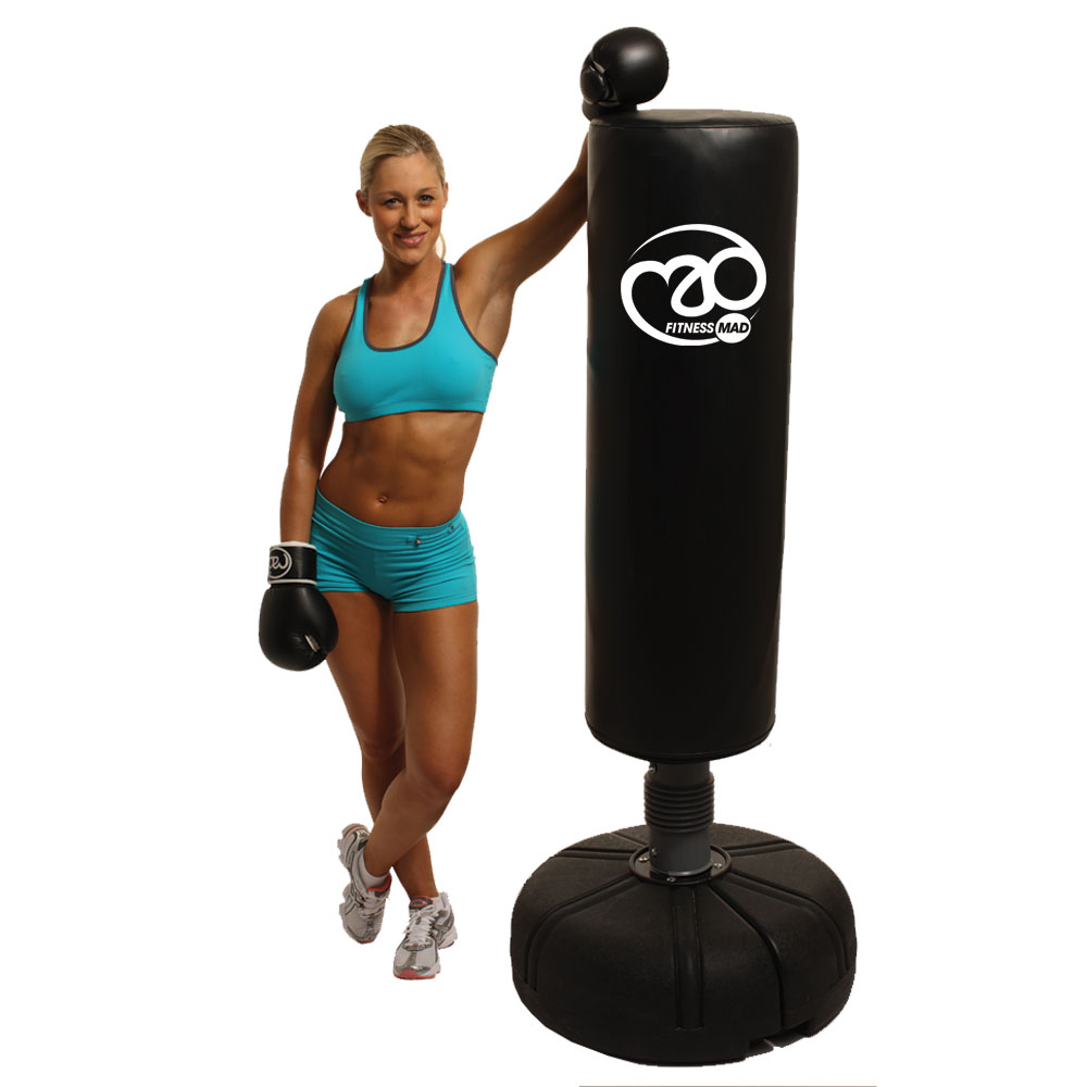 "56/""~61/""Adjustable Boxing Punching Bag Stand+Punching Trainer Adult"