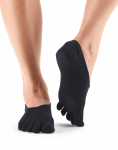 ToeSox Casual Dash in Black