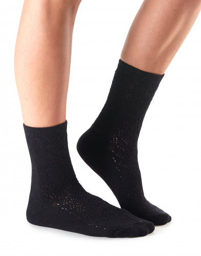 Casual Kate Socks in Ebony