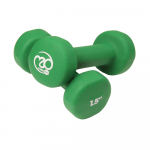 Pair of 1.5Kg Neo Dumbbells - Green