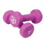 Pair of 1Kg Neo Dumbbells - Purple