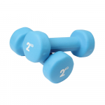 Pair of 2Kg Neo Dumbbells - Blue
