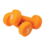 Pair of 3Kg Neo Dumbbells - Orange