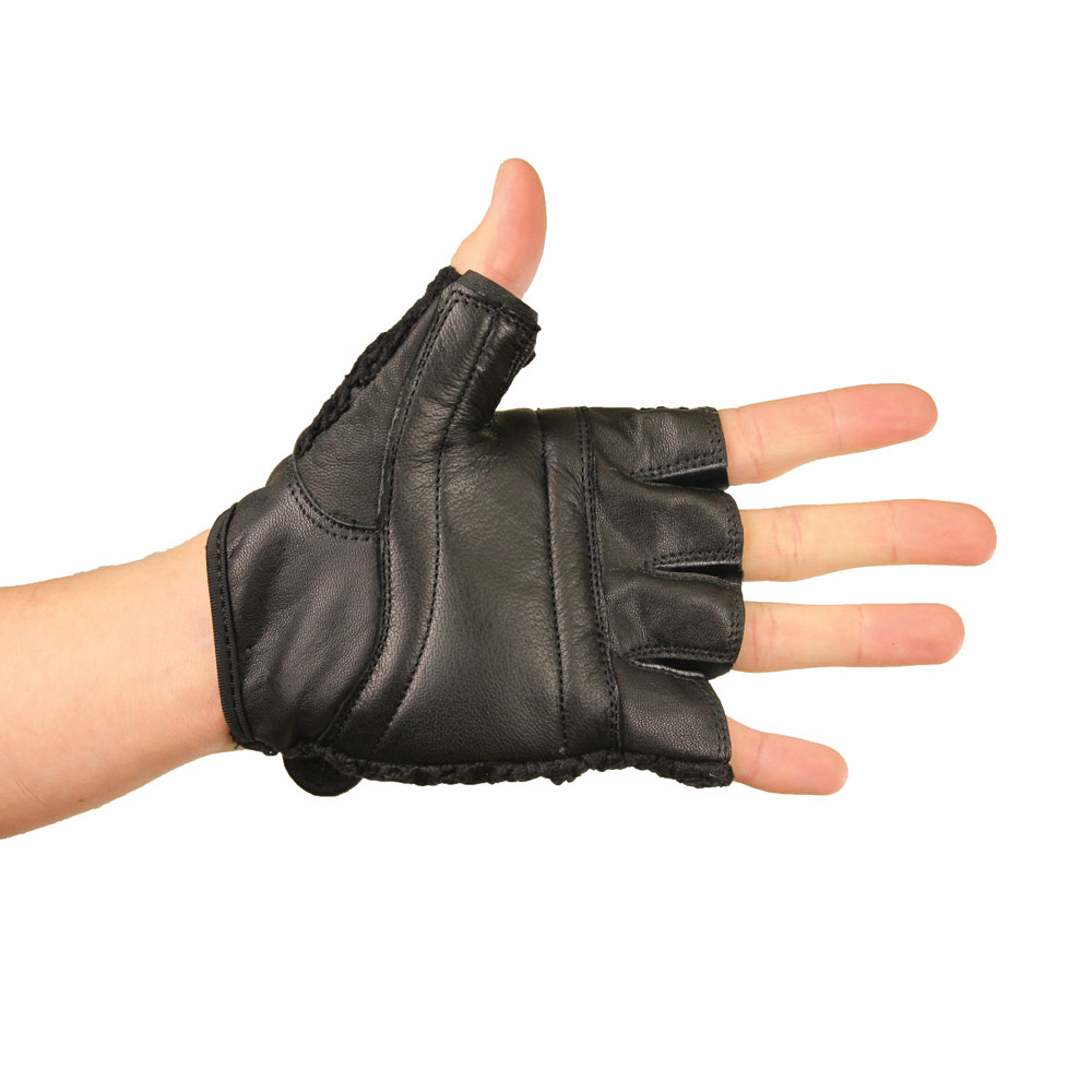 Mesh Weight Lifting Gloves: Mesh Fitness Gloves