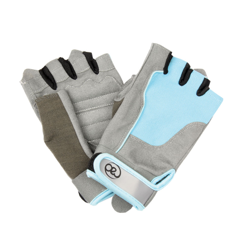 Ladies Cross Training Gloves in Blue