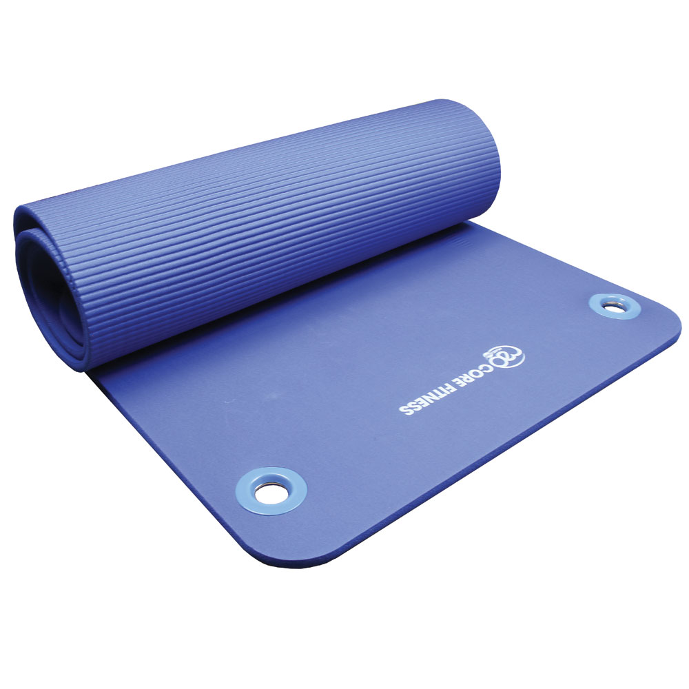 Core Fitness Mat 10mm Eyelets Mad Hq