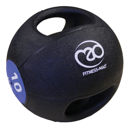 10kg Double Grip Medicine Ball