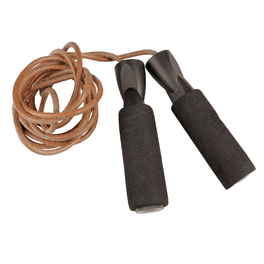 Mad Jump Fitness Endurance Pro 3m Leather Skipping Rope