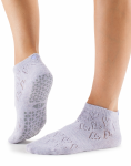 Tavi Noir Lily Grip Socks in Love Mist