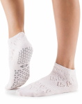 Tavi Noir Lily Grip Socks in Love Tart