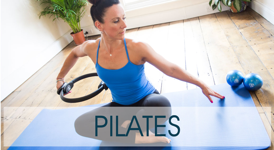 Pilates Equipment Button