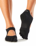 ToeSox Full Toe Prima Bellarina in Black